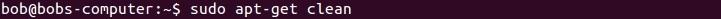 linux apt-get clean