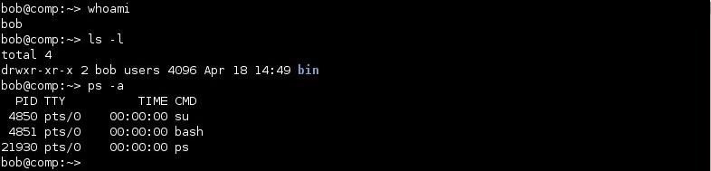 linux bash shell