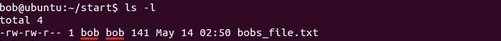 linux datei eigentümer anzeigen