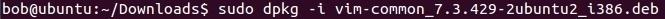 linux dpkg paket installieren