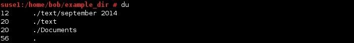 linux du befehl