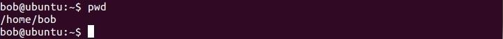 linux pwd befehl