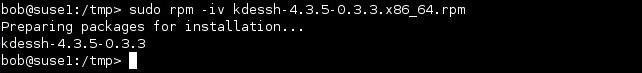 linux rpm paket installieren
