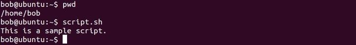 linux skript ausführen