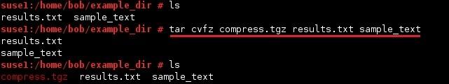 linux tar archiv komprimieren