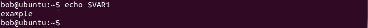 linux umgebungsvariable verweisen
