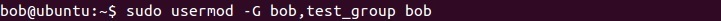 linux adding users to a group