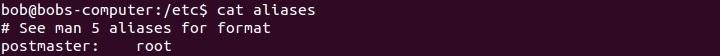 linux aliases file