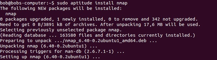 aptitude install command