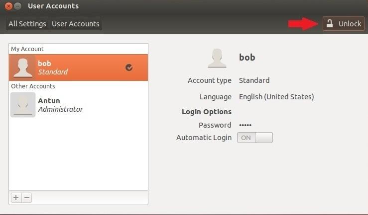 creating users ubuntu 2
