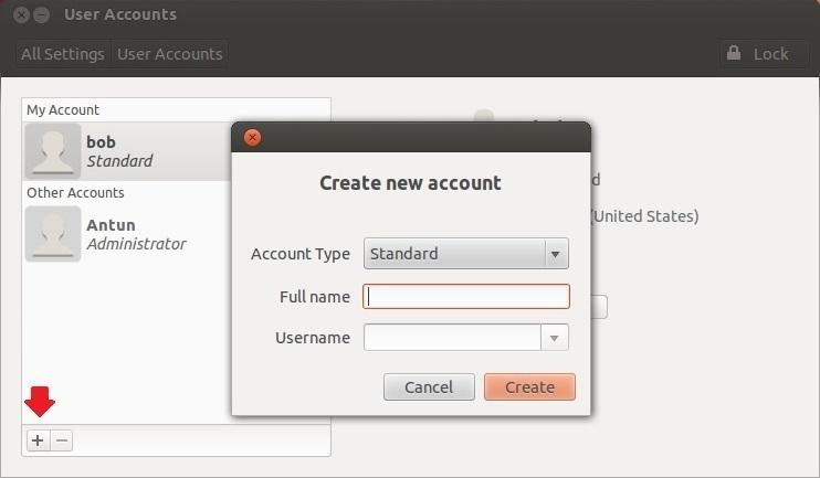creating users ubuntu 3