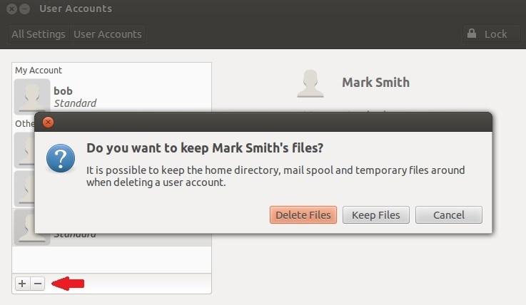 delete users ubuntu 3
