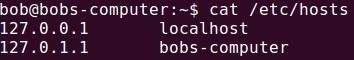etc hosts file