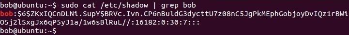 linux etc shadow file