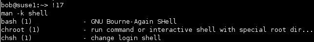 linux execute a command using the history command