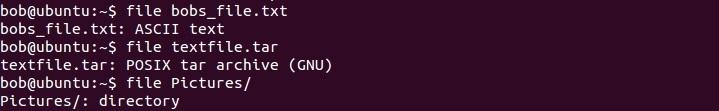 linux file command