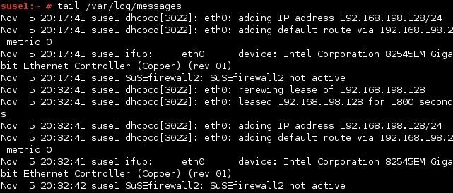 linux /var/log/messages