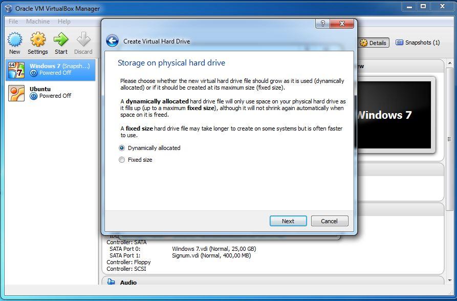 Install Ubuntu on VirtualBox