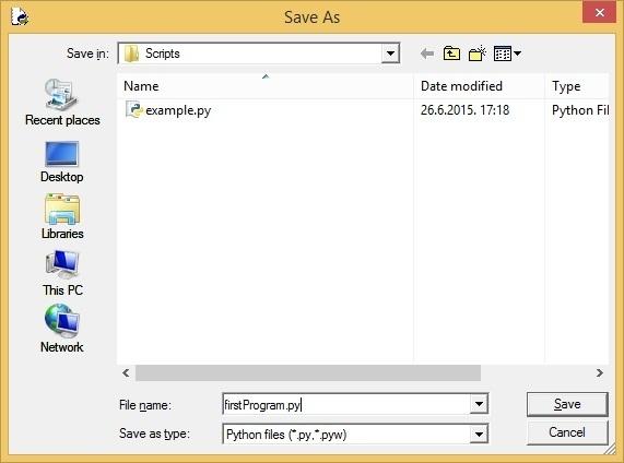 save file idle