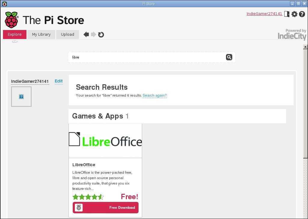install libre office raspberry