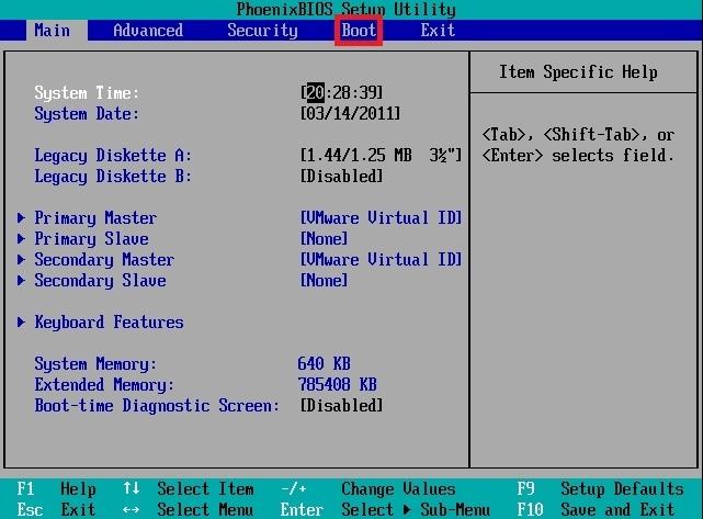 ESXi installation | VMware ESXi