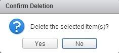 confirm deletion file datastore