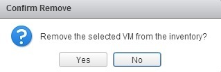 confirm vm removal