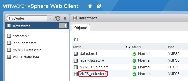 datastore inventory