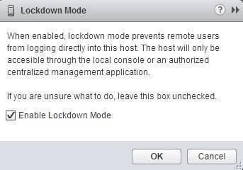 enable lockdown mode