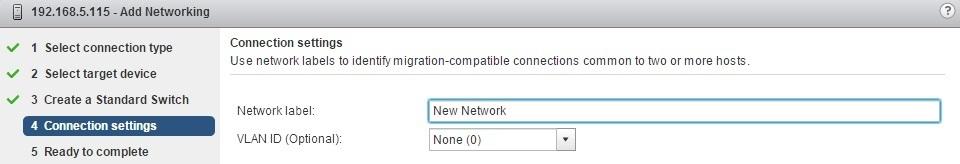 esxi add networking network label