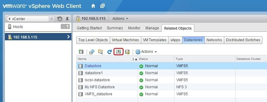 increase datastore capacity
