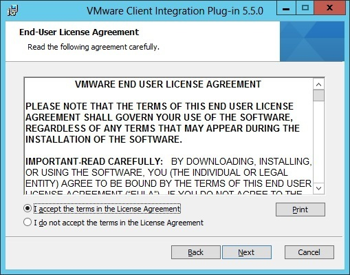 install client integration plug in license