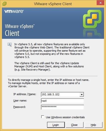 vCenter Server Appliance installation | VMware ESXi