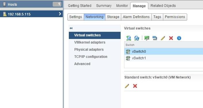 Configure speed and duplex | VMware ESXi