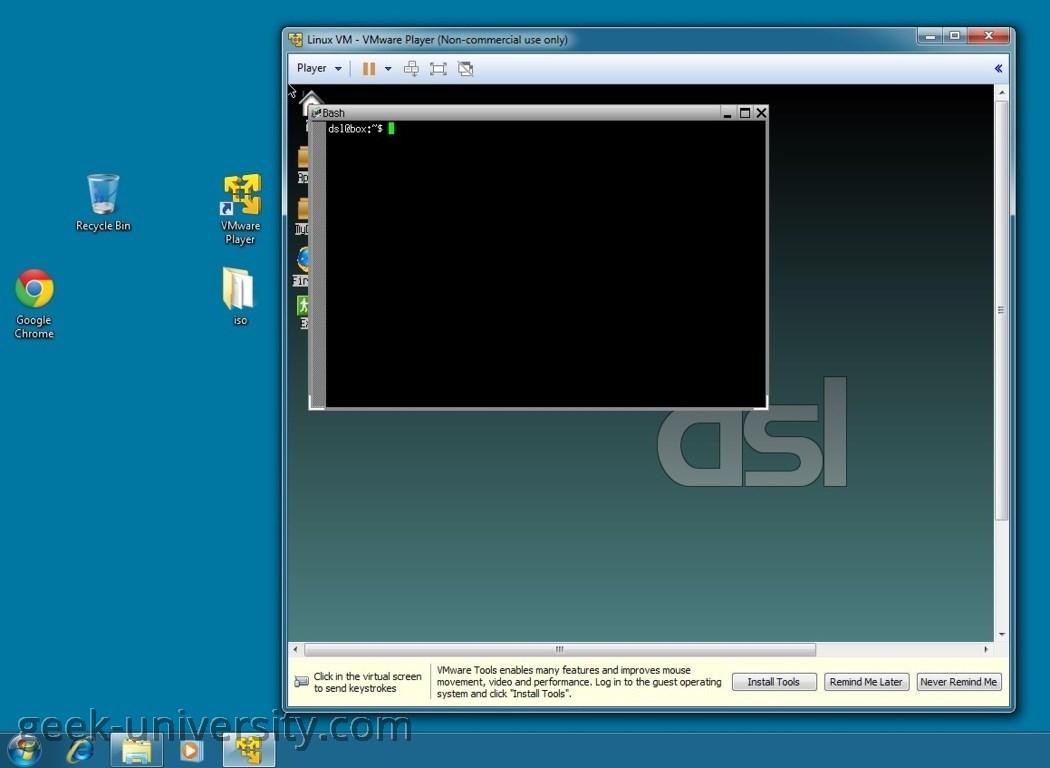 vmware player type 2 hypervisor