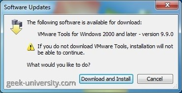 vmware tools download windows