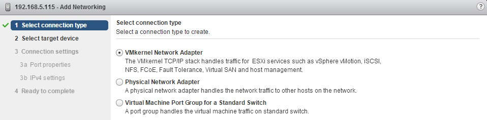 Vmkernel Port For Iscsi Software Initiator Vmware Esxi