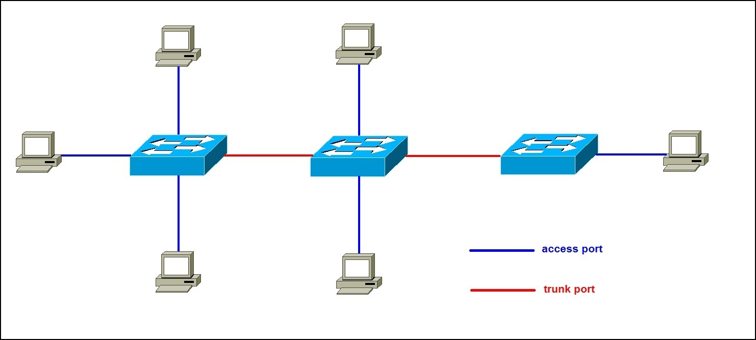 access and trunk ports explained