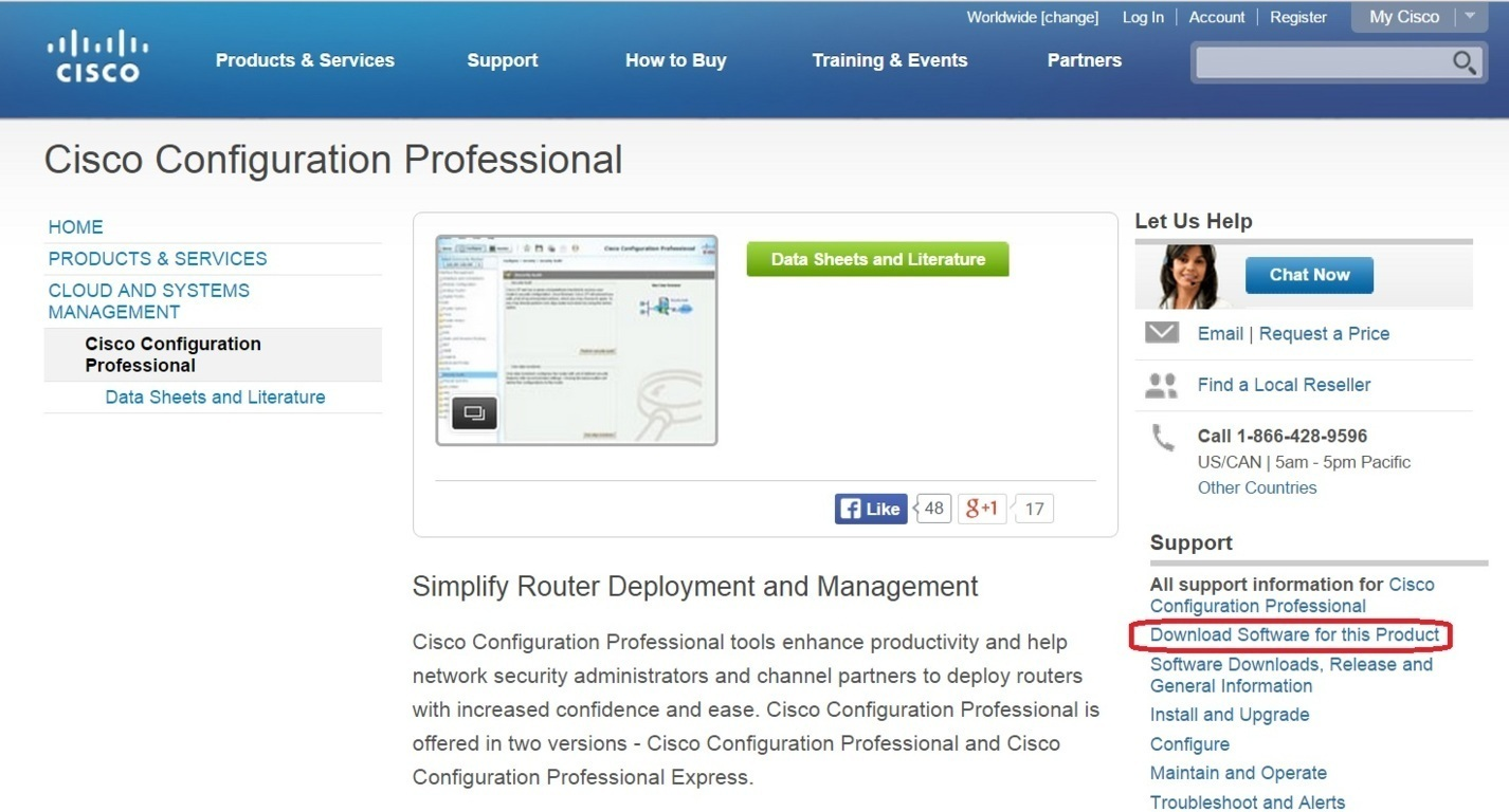 Cisco Configuration Professional Ccp Download Ccna Security