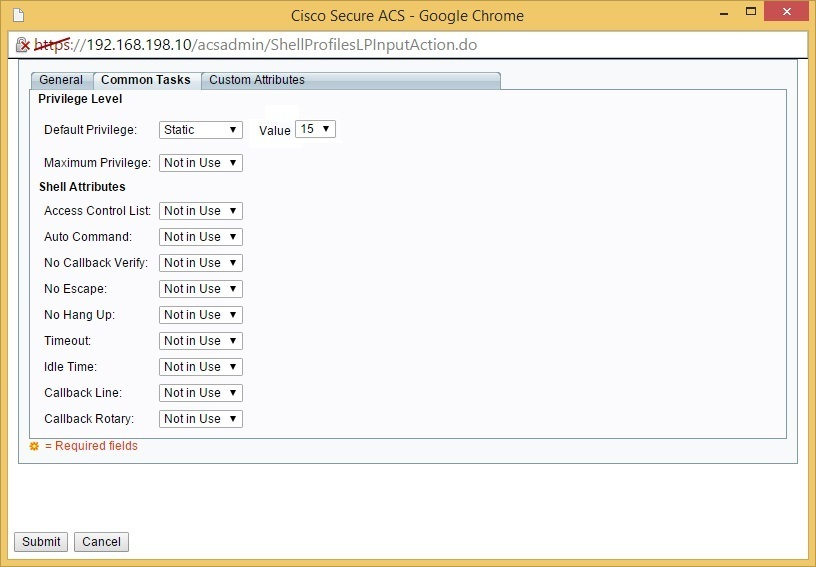 Configure Cisco ACS | CCNA Security
