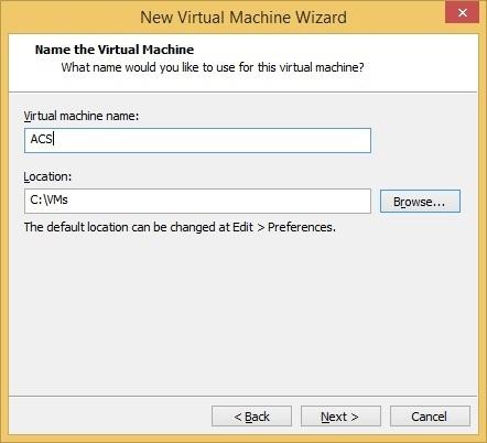 virtual machine name