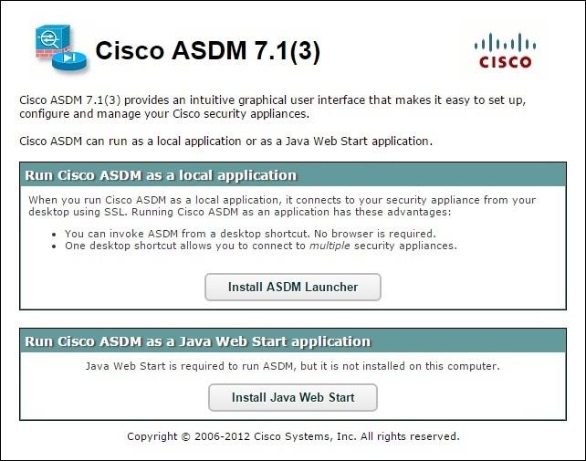 cisco asdm launcher windows 10