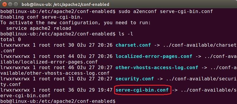 a2enconf command