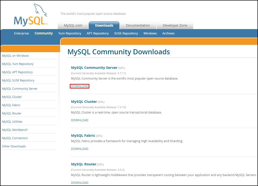 Install MySQL on Windows | MySQL