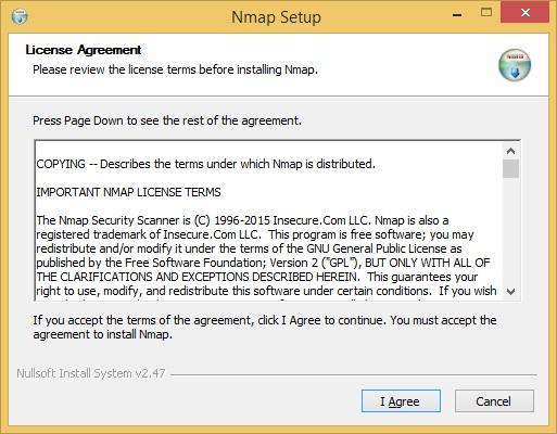 install nmap windows 1