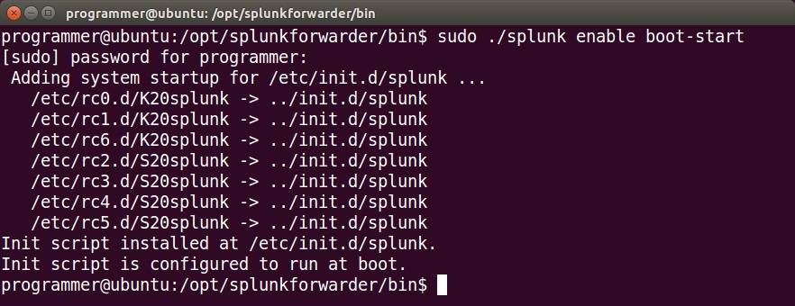 Configure a Splunk forwarder on Linux | Splunk