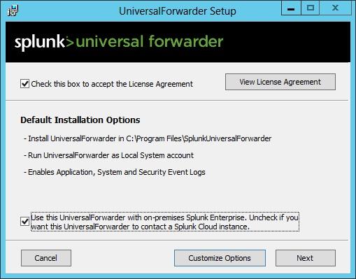 Install a Splunk forwarder on Windows | Splunk