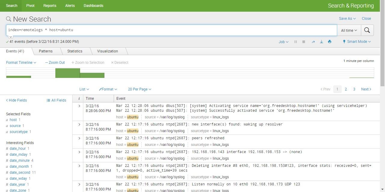 splunk forwarder linux verify data