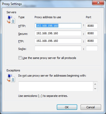 windows proxy