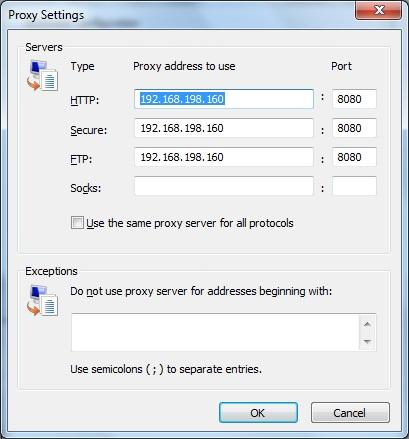 windows proxy